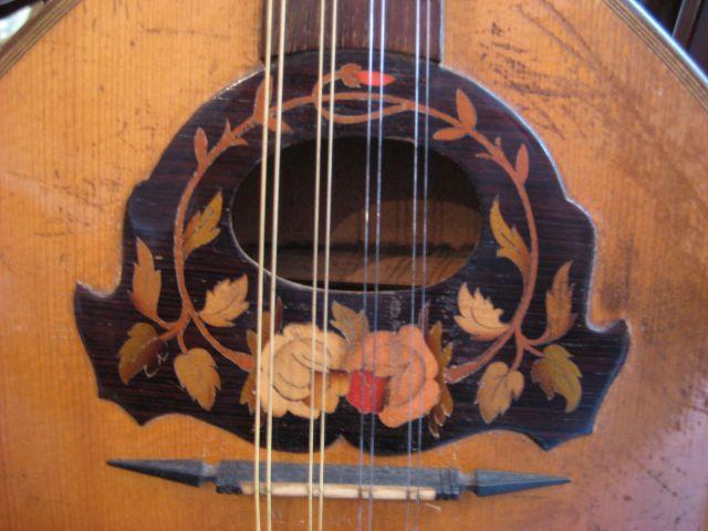 irish mandolin and case an early 20thc irish mandolin and case ...